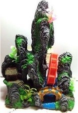 Fantasy Rock Air Bubbles Resin Ornament