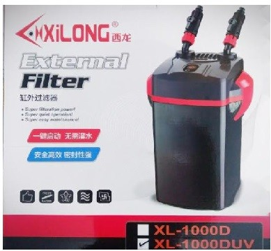 XiLONG XL 1000D UV External Aquarium Filter
