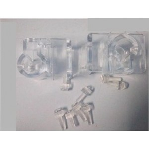 Acrylic Inflow Outflow Pipe Holder