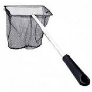 BOYU Aquarium Pond Fish Metal Handle Net