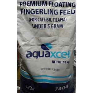 CARGILL Aquaxcel Premium Floating Fingerling Catfish Tilapia Feed