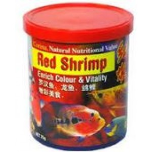 Corina Red Shrimp Large Aquatic life Feed
