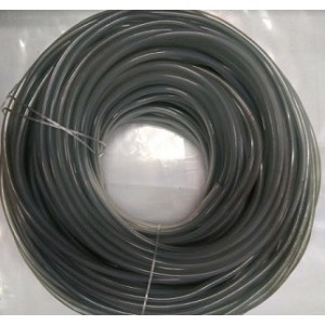 Flexible Nylon Clear 3MM Thickness PVC 25M Airline
