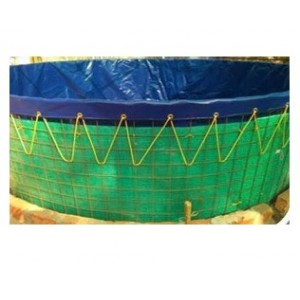 Heavy Duty Seven Meter Dia Biofloc Tarpaulin