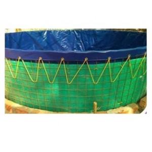 650GSM Nine Meter Dia Biofloc 7Y Tarpaulin