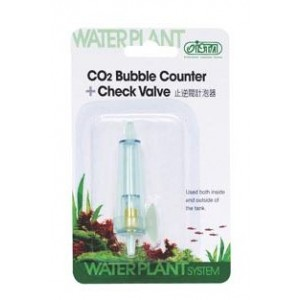 ISTA CO2 Bubble Counter and Check Valve