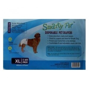 Smarty Pets XL Disposable Dog Diapers