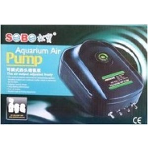SOBO Four Outlet Aquarium Air Pump
