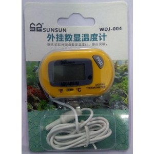 SUNSUN Battery Probe Digital Thermometer