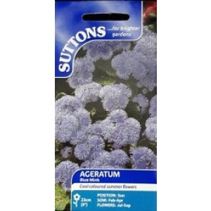 Suttons Ageratum Seeds