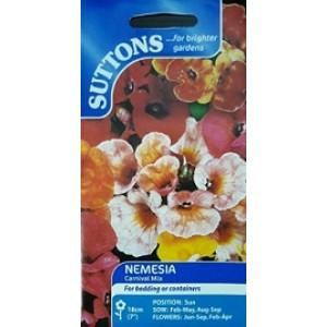Suttons Nemesia Seeds