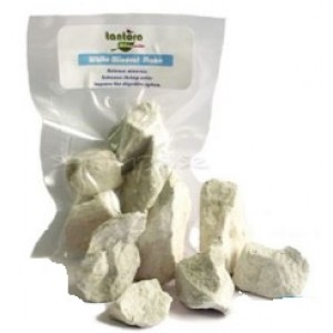 Tantora Shrimp Essential White Minerals Stone