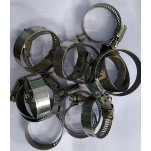 Ten PC 32 To 51MM Air And Water Pipe Big Size Steel Joint Adjustment Ring
