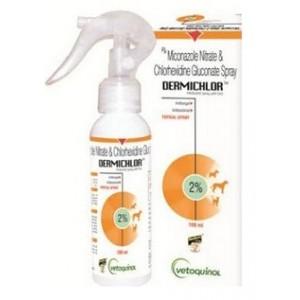 Vetoquinol Dermichlor Spray