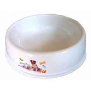 White Plastic Bowl