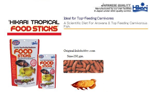 hikari aquarium fish food