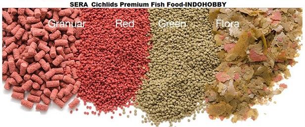 SERA fish food