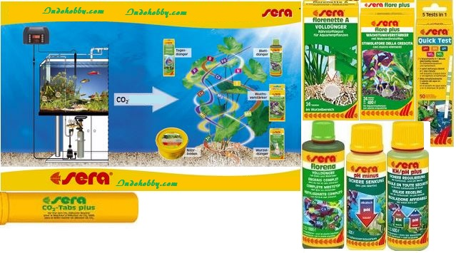 sera aquarium plant products